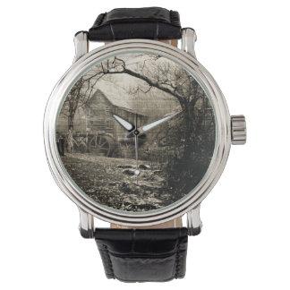 Vintager Waterwheel Uhr