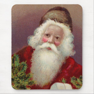 Vintager Weihnachtsmann 7 Mousepads