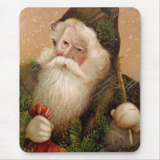 Vintager Weihnachtsmann 8 Mousepad