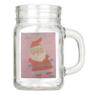 Vintager Weihnachtsmann Einmachglas