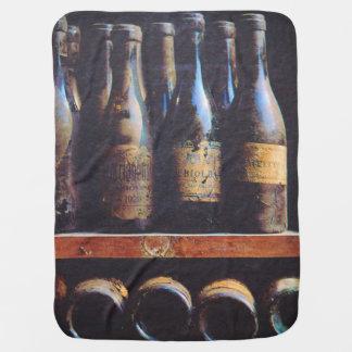 Vintager Wein Kinderwagendecke