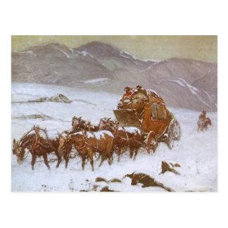 Vintager Westen, warum die Post durch Berninghaus Postkarten