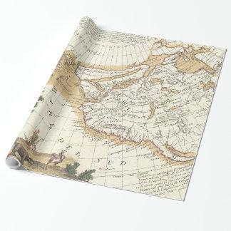 Vintager Western Nordamerika u. pazifischer Geschenkpapier