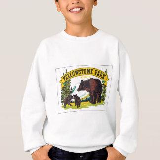 Vintager Yellowstone-Park Wyoming USA Sweatshirt