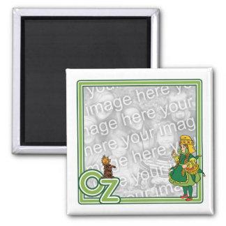 Vintager Zauberer von Oz; Dorothy und Toto Quadratischer Magnet