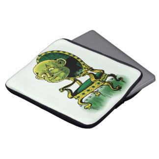 Vintager Zauberer von Oz, mürrischer Laptopschutzhülle