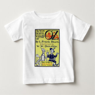 Vintager Zauberer- von OzBucheinband Baby T-shirt