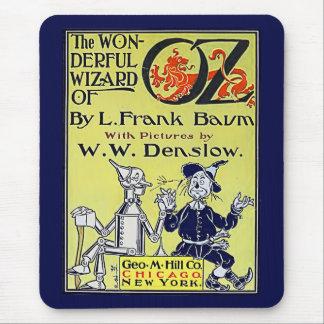 Vintager Zauberer- von OzBucheinband Mauspads