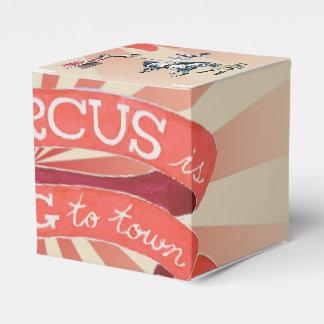 Vintager Zirkus-Bevorzugungs-Kasten Geschenkschachtel
