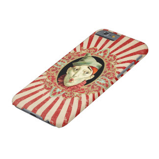 Vintager Zirkus-Clown und beunruhigter Barely There iPhone 6 Hülle