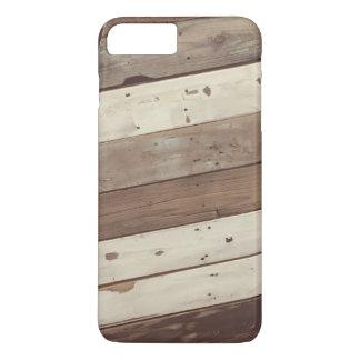 Vintager zurückgeforderter hölzerne Platte iPhone iPhone 8 Plus/7 Plus Hülle