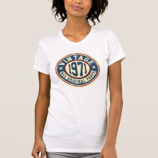 Vintages 1971 alles ursprüngliches Teil T-Shirt