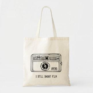 Vintages 60er 35mm kompakte Kamera-Zeichnen Tragetasche