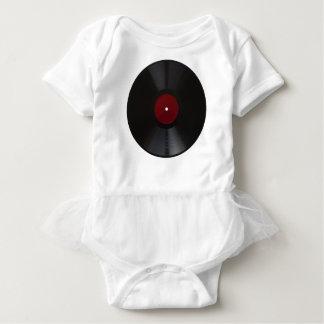 Vintages 78 U/min transparentes Rekordpng Baby Strampler