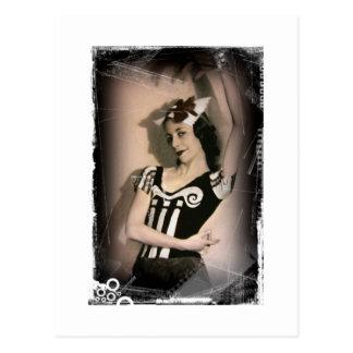 Vintages Alice-Gasthaus Märchenland-Ballett Postkarte