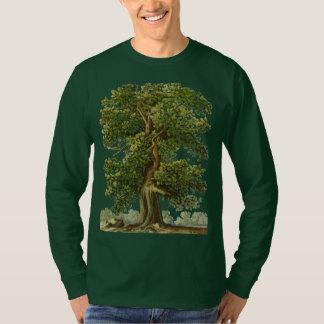 Vintages altes Eichen-Baum-im Garten T-Shirt
