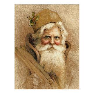 Vintages altes St.-Nick-Weihnachten Postkarte