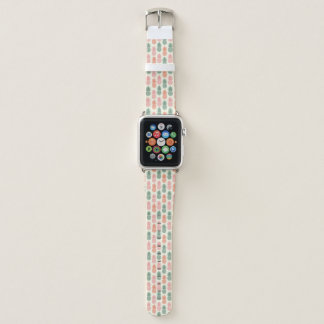 Vintages Ananas-Muster Apple Watch Armband