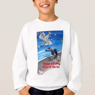 Vintages Anti-Sänfte Plakat Sweatshirt