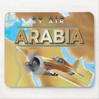 Vintages Arabien-Reise-Plakat Mousepad