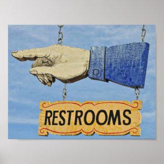 Außergewöhnlich Vintages Art Badezimmer Poster