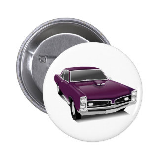 Vintages Auto-Abzeichen Buttons