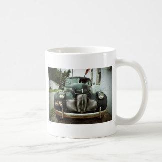Vintages Auto auf Weg 66 Kaffeetasse