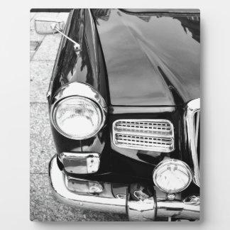 Vintages Auto Fotoplatte