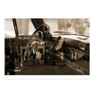 Vintages Auto Postkarten