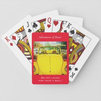 Vintages Auto-Spielkarten Spielkarten