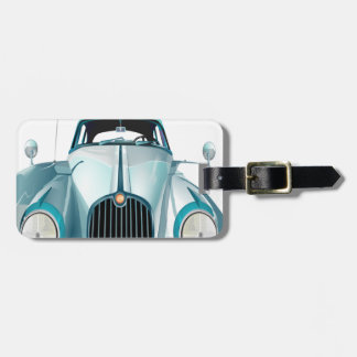 Vintages Automobil des Oldtimerautos Kofferanhänger