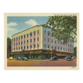 Vintages Battle-Creek Michigan Postkarte