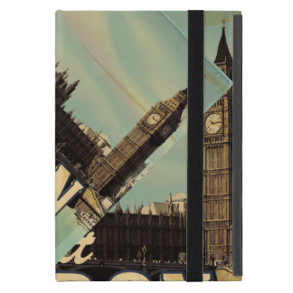 Vintages Besuchs-London-Plakat iPad Mini Schutzhülle