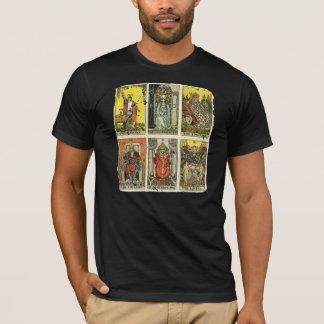Vintages beunruhigtes Tarot-T-Stück: Erster Major T-Shirt