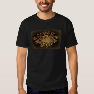 Vintages Bierfass-Druckt-shirt T-Shirts