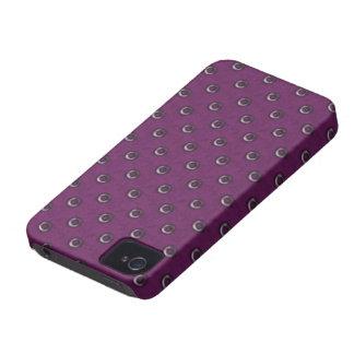 Vintages BlackBerry-mutiger Kasten iPhone 4 Case-Mate Hülle