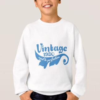 Vintages BLATT gealtert zur Perfektion blue.ai Sweatshirt
