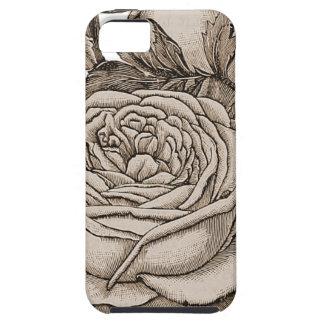 Vintages Blumen Hülle Fürs iPhone 5