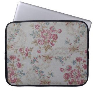 Vintages Blumen Laptop Sleeve Schutzhülle