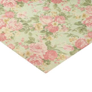 Vintages Blumen Seidenpapier
