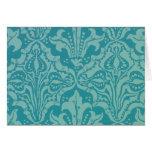 Vintages Blumen-und Samen-Tapeten-Muster