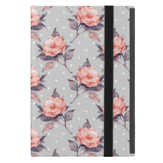 Vintages Blumenmuster iPad Mini Etui