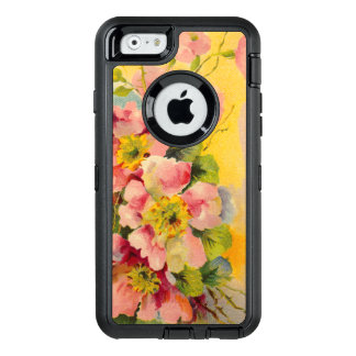 Vintages Blumenmuster OtterBox iPhone 6/6s Hülle