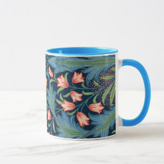 Vintages Blumenmuster Williams Morris Tasse