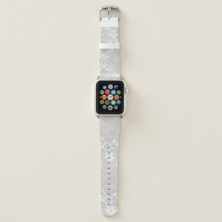 Vintages Blumenspitze-Apple-Uhrenarmband 42MM Apple Watch Armband