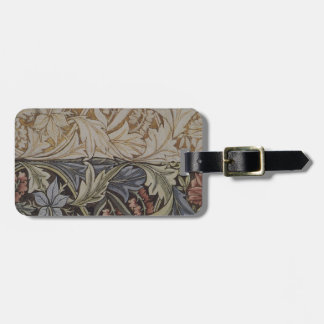 Vintages Blumentapisserie-Antiken-Gewebe-Muster Kofferanhänger