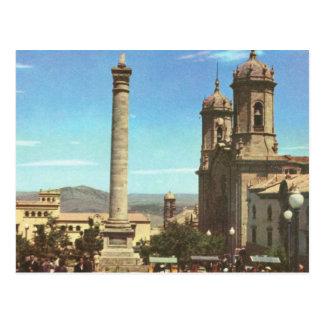 Vintages Bolivien, Polosi, Kathedralen-Spalte Postkarte
