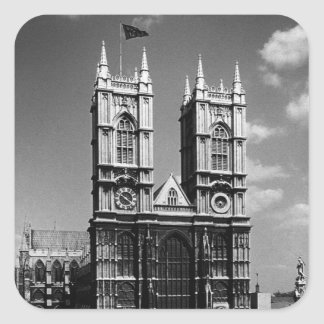 Vintages BRITISCHES Westminster Abbey Englands Stickers