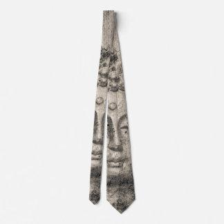 Vintages Buddha-Buddhismus-Yoga Krawatte