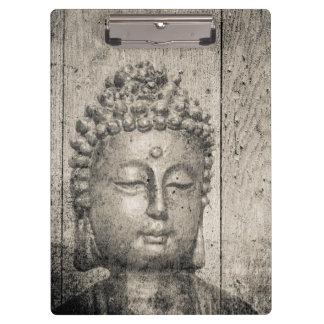 Vintages Buddha-Yoga Klemmbrett